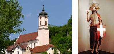 Gemeinde Rechtenstein Dorfkirche St. George